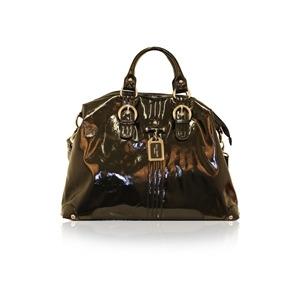 Photo of Suzy Smith Large Multi Handle Bag Black Handbag