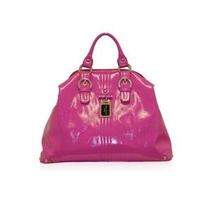 Photo of Suzy Smith Large Multi Handle Bag Pink Handbag