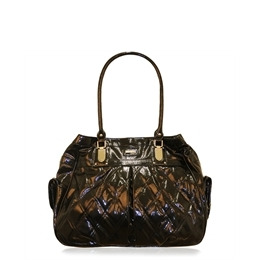 Suzy Smith Patent Quilted Bag Black Reviews