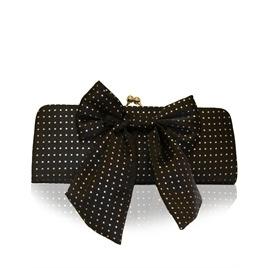 Suzy Smith Bow Clutch Bag Black Reviews