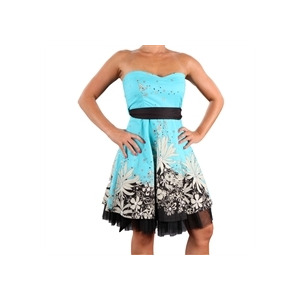 Photo of Eucalyptus Rita Floral Dress - Blue Dress