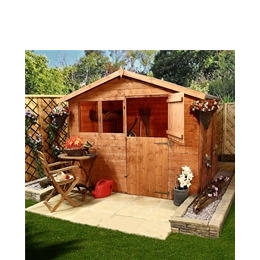 Farm House 8x6 Stable Shed Reviews