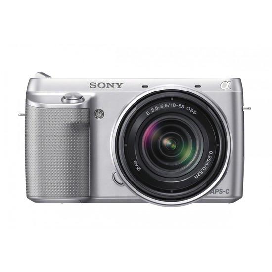 Sony Alpha NEX-F3 with 18-55 lens
