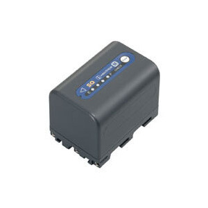 Photo of NP-QM71D 'm' Lithium Ion Battery With Indicator (2760MAH) Camera and Camcorder Battery
