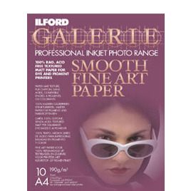 Ilford A4 Fine Art Inkjet Paper Pack Of 10 Reviews