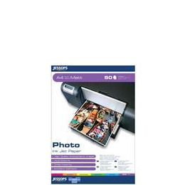 Jessops Inkjet Paper Photo A4 Matt Heavy Weight 50 Reviews