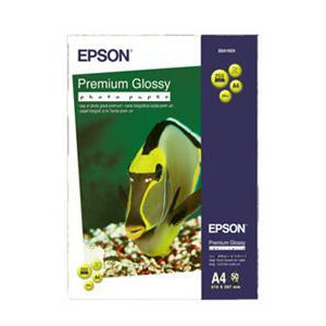 Photo of Epson A4 Premium Glossy Photo Paper 50 Sheets Photo Paper