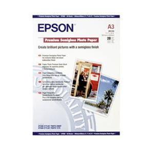 Photo of A3 Premium Photo Paper SEMI-GLOSS (20 Sheets) Photo Paper