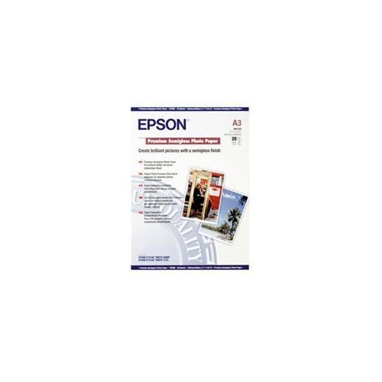 A3 Premium Photo Paper SEMI-GLOSS (20 Sheets)