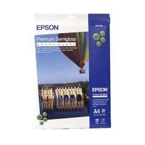 Photo of Epson A4 Premium Photo Paper SEMI-GLOSS (Bonus 40 Sheets Pack) Printer Paper
