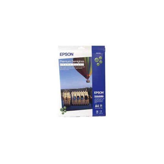 Epson A4 Premium Photo Paper SEMI-GLOSS (Bonus 40 Sheets Pack)