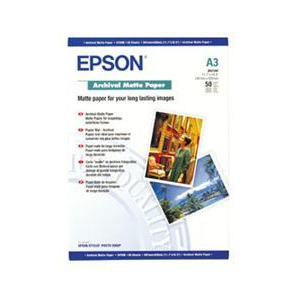 Photo of Epson A3 Archival Matte Paper 50 Sheets Printer Paper