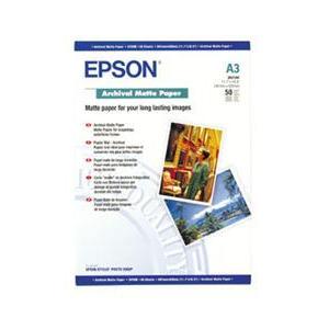 Photo of Epson A3 Archival Matte Paper 50 Sheets Printer Paper