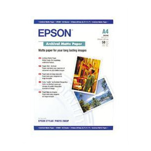 Photo of Epson A4 Archival Matte Paper (50 Sheets) Printer Paper
