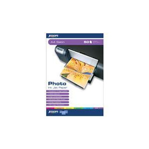 Photo of Jessops Photo INKJET Paper A4 Satin Pack Of 50 Photo Paper