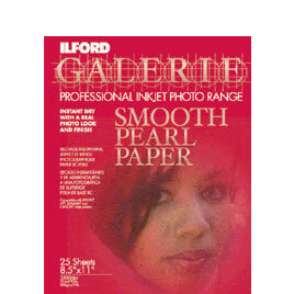 Ilford A4 Smooth Pearl Inkjet Paper Pack Of 25 Reviews