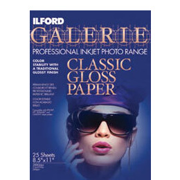 Ilford Galerie A4 Classic Gloss Inkjet Paper (Pack Of 25) Reviews