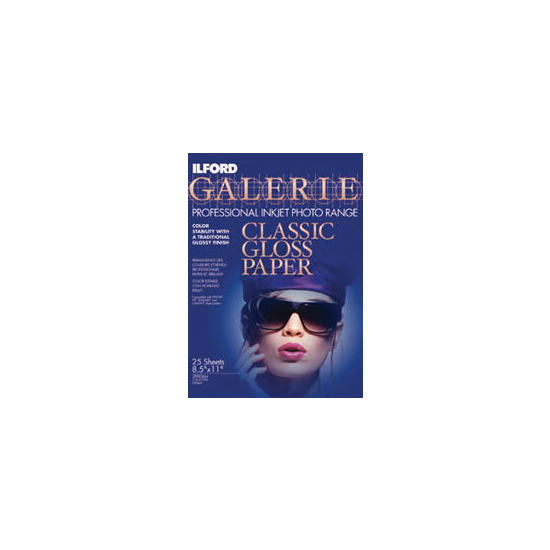 Ilford Galerie A4 Classic Gloss Inkjet Paper (Pack Of 25)