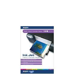 Jessops Inkjet T Shirt Transfer A4 10 Sheets Reviews
