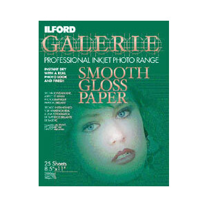 Photo of A4 Smooth Gloss INKJET Paper (Pack Of 25) Photo Paper