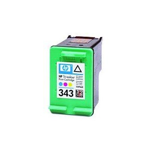 Photo of TRI-COLOUR Ink Cartridge No. 343 Ink Cartridge