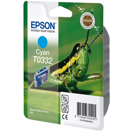 Epson Cyan Ink Cartridge For Stylus Photo 950