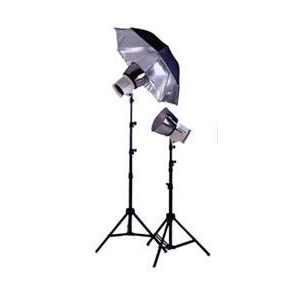 Photo of Interfit 3200K 2 Head Kit Studio Kit