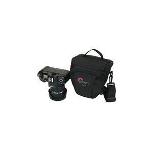 Photo of Lowepro Topload Zoom 1 Bag Black Grey Camera Case