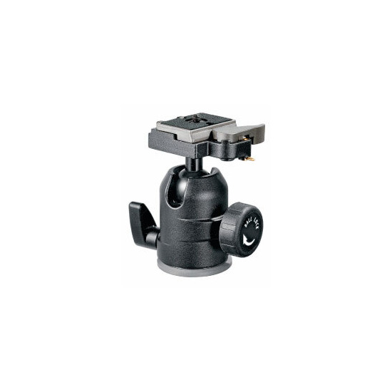 Manfrotto 488rc2 Midi Ball Head With Rc2 Rapid Connect System