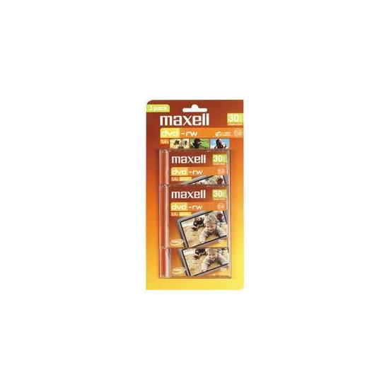 Maxell 8CM DVD RW DISCs Pack Of 3