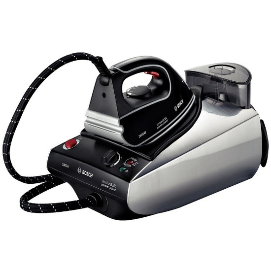 Bosch Premier Power Plus TDS3570GB Steam Generator Iron - Black & Silver