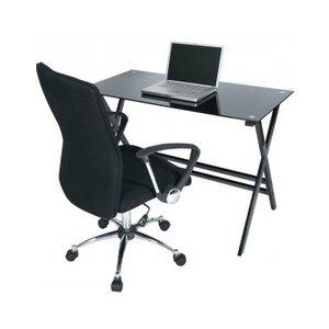 Photo of Levv CD1100BLB and O5CBB Computer Desk