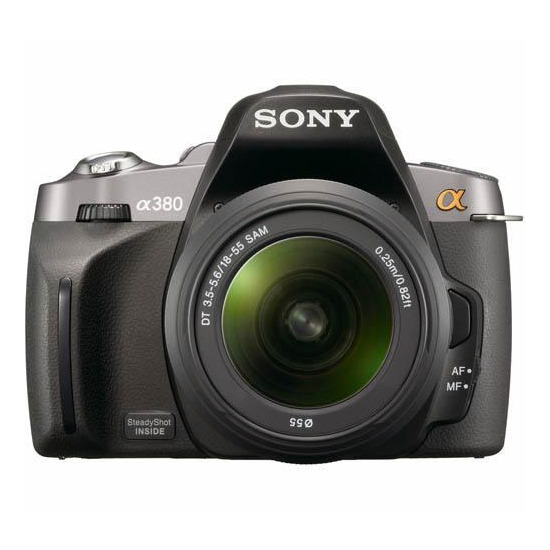 Sony Alpha DSLR-A380L with 18-55mm lens