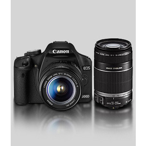 Photo of Canon EOS 500D With 18-55MM IS and Tamron 70-300MM Lenses Digital Camera