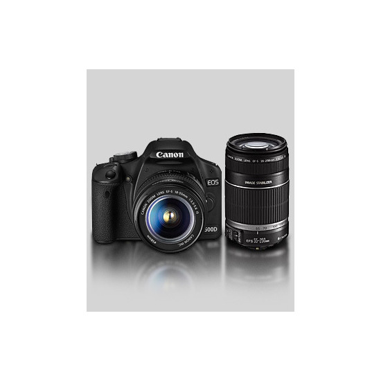Canon EOS 500D with 18-55mm IS and Tamron 70-300mm lenses