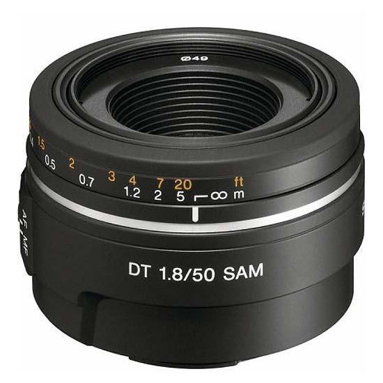Sony 50mm f1.8 SAM Portrait Lens