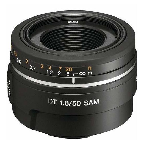 Sony 50mm f1.8 SAM Portrait Lens