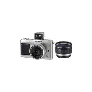 Photo of Olympus PEN E-P1 With 14-42MM & 17MM Lenses Digital Camera