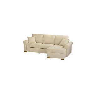 Photo of Chiswick Large Chaise Sofa Bed With Storage - Natural Right Hand Facing Furniture
