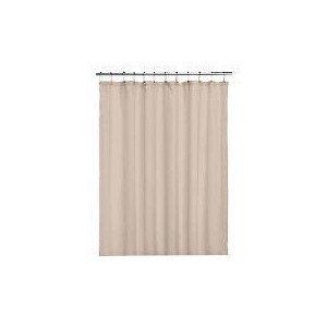 Photo of Tesco Linen Shower Curtain Bathroom Fitting