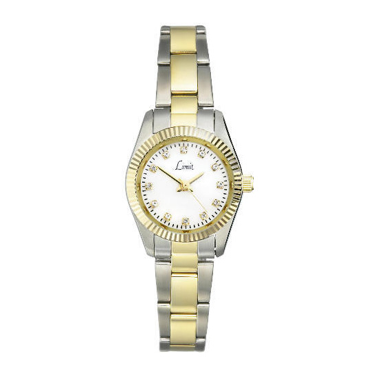 Limit two tone bracelet watch