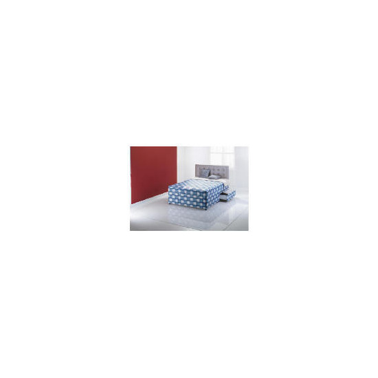 Layezee Posturezone Latex 2 draw Deep quilted mattress divan set