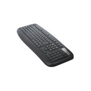 Photo of Computer Gear Windows USB-PS/2 Fully Waterproof/Anti Bacterial Keyboard [BLACK] Keyboard