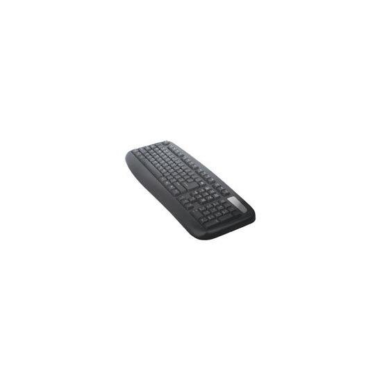 Computer Gear Windows USB-PS/2 fully waterproof/anti bacterial keyboard [BLACK]
