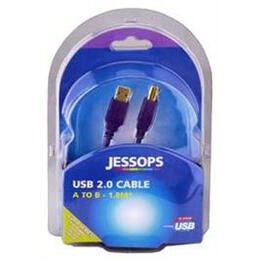 Jessops USB 2 0 Cable A B 1 8 Metres Gold Series Reviews