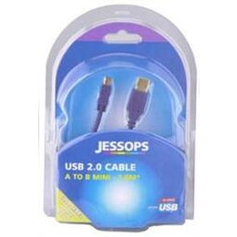 USB 2.0 Cable A-B Mini 1.8 Metres - Gold Series Reviews