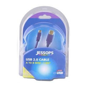 Photo of USB 2.0 Cable A-B Mini 1.8 Metres - Gold Series USB Lead