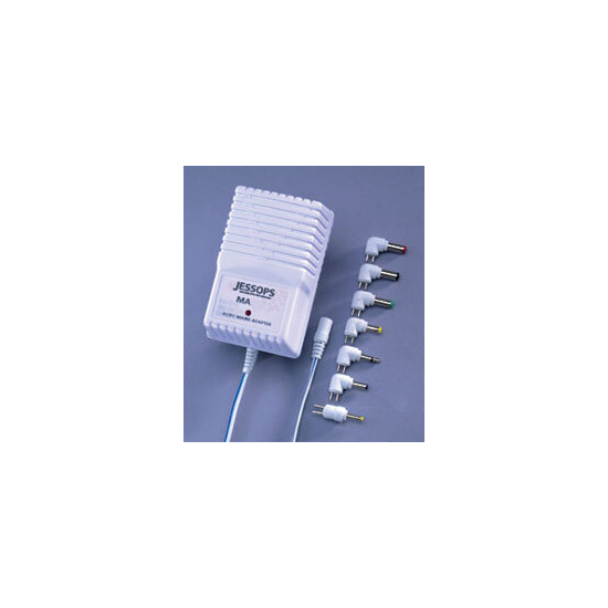 AC Mains Adapter 1200mA - MULTI-VOLTAGE