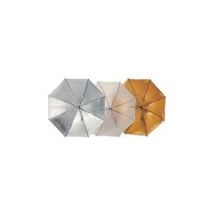 Photo of Brolly 81CM (32IN) Silver/White Reversible Umbrella