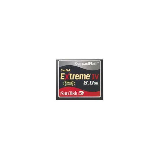 Extreme IV CompactFlash (8GB)